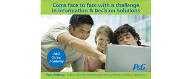 Procter & Gamble organizza l'Information & Decision Solutions Challenge