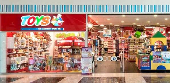 toys center negozio giocattoli