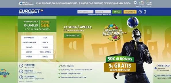 eurobet scommesse online