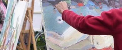 pittore dipinto
