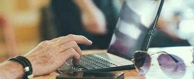 lavorare, computer, ict