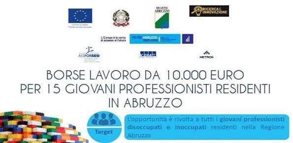 Borse Lavoro Abruzzo