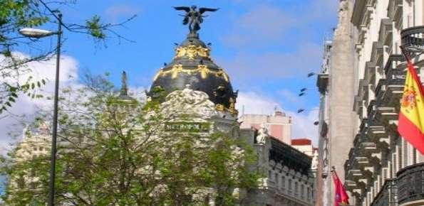 Madrid Spagna Gran Via