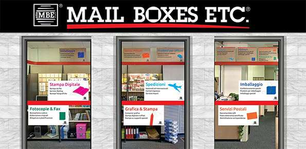 negozio Mail Boxes Etc.