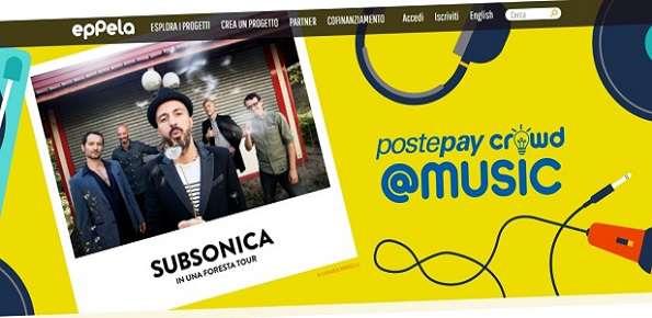 concorso PostepayCrowd Music