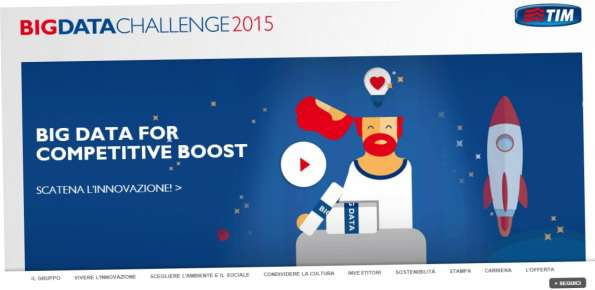 TIM Big Data Challenge concorso