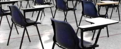 aula formazione banchi