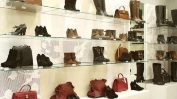 cinti negozio calzature