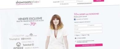 showroomprive sito e commerce