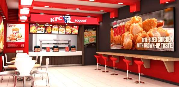 Kentucky Fried Chicken fast food
