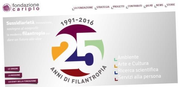 Fondazione Cariplo Jobfactory