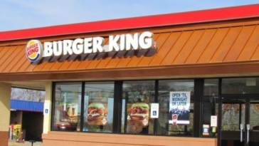 burger king ristorante fast food