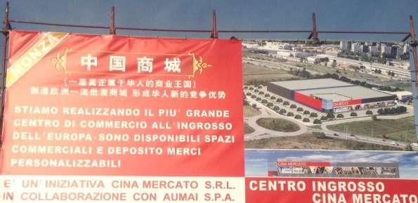 agrate brianza grande magazzino cinese