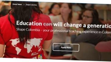 progetto shape colombia