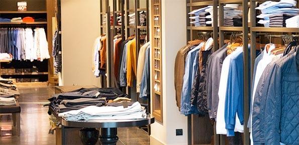 negozio, vendita, abbigliamento