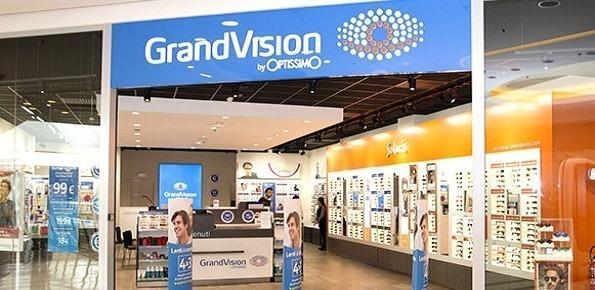 grandvision negozio