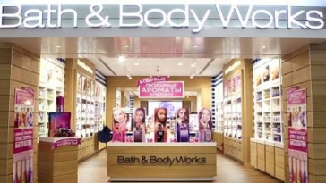 Bath & Body Works negozio