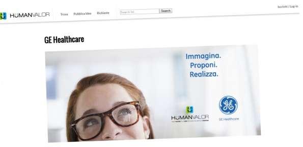 General Electric Healthcare concorso di idee