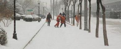 Lavoro per spalatori di neve, Amsa