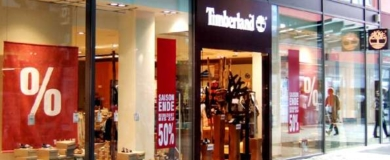 timberland negozio