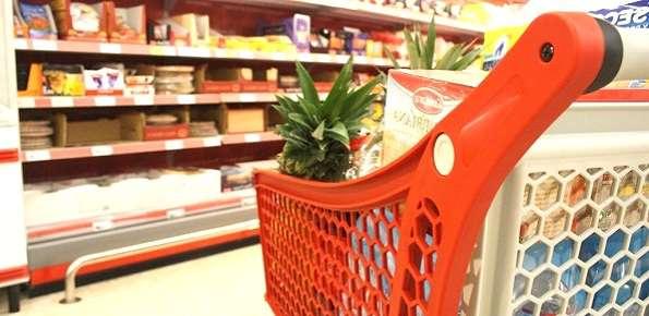 supermercato, spesa, carrello