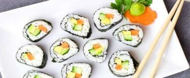 sushi, cucina giapponese