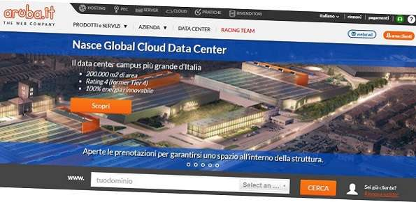 aruba data center ponte san pietro