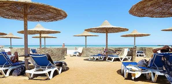 spiaggia, ombrelloni, estate
