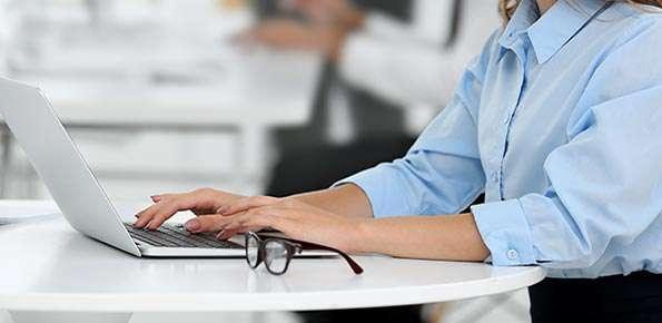 ufficio, pc, computer