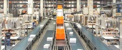 zalando magazzino, logistica