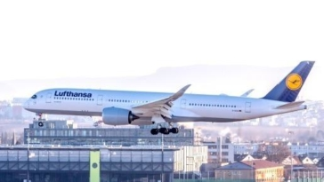 lufthansa aereo A350