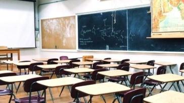 scuola, aula, banchi