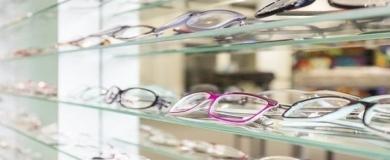occhiali, ottica
