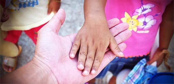bambini, aiutare, sociale