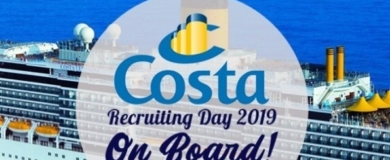 costa crociere recruiting day