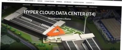 aruba data center roma