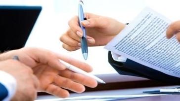 contratto, documento, firma, lavoro, ufficio