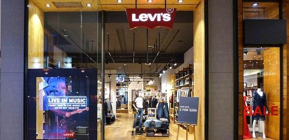 levi's negozio jeans