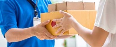 consegna, pacchi, spedizioni, corriere