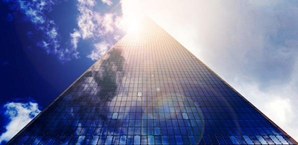 grattacielo, finestre