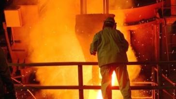 acciaierie, industria, operaio