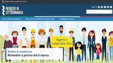 reddito di cittadinanza domanda online