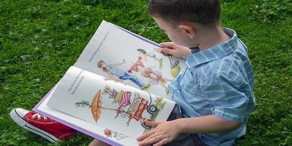 libro, infanzia, bambino