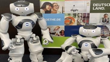 robot in residence, Goethe-Institut