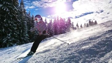 sciare, sci, montagna, neve