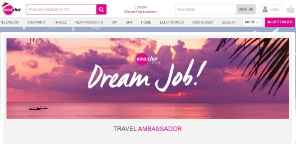 wowcher dream job
