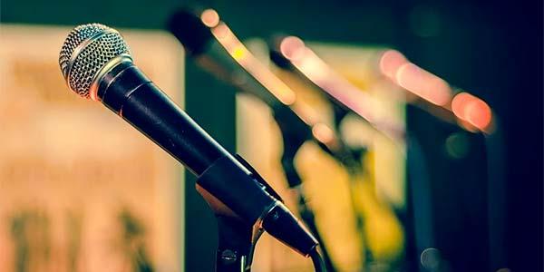 cantare, microfono, canto