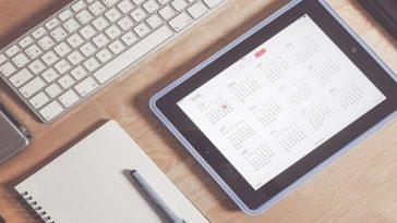 event manager, calendario