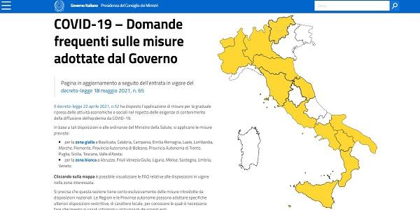 zone covid italia