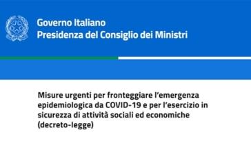 green pass decreto governo